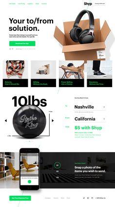 Shyp.com Website Redesign