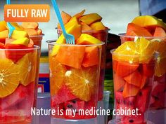 Nature's candy is my medicine cabinet! Who needs a medicine cabinet when you can have a fruit stash...