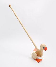 Patinho de Empurrar - Brinquedice Brinquedos Educativos