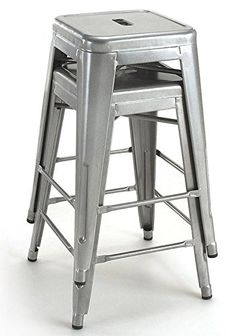 Special Offers - Tabouret 24-inch Metal Counter Stools (Set of 2) - In stock & Free Shipping. You can save more money! Check It (August 04 2016 at 03:44PM) >> http://kitchenislandusa.net/tabouret-24-inch-metal-counter-stools-set-of-2/