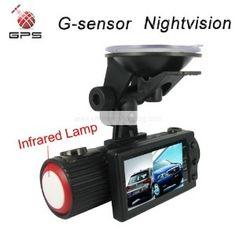 Nightvision Dual Camera Car DVR Blackbox with...