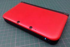 Console Nintendo 3DS XL - rouge & noir reconditionné > #Nintendo3ds #3dsxl #occasion