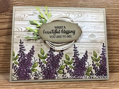 I have been going through my stamp sets both old and new, featuring them either on my YouTube channel or here on my blog. Today, it's...
