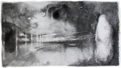 Mista sobre papel 8ox40cm - Lisie De Lucca