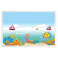 ProCase Disposable Placemats for Baby Kids Toddlers, 60 Count Biodegradable Table Topper Stick-on Placemats BPA Free Eco-Friendly Table Mats for Baby Children Restaurant, Kids Safe Eco Store, Underwater Animals, Table Toppers, Animal Design, Biodegradable Products, My Ebay, Eco Friendly, Baby Kids, Toddlers