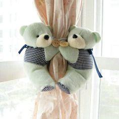 Enfeite de cortina little bear!!