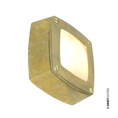 A simple square path or amenity light. Die cast in aluminium or brass with frosted glass diffusers. Surface mounted with rear cable entry.. Type of fitting: G9. Number of lamps: 1. Lamp: Capsule. Maximum wattage: 25. Voltage: 230 (AC). Bulb Supplied: No. Type of glass: Frosted glass. IP Rating : IP54. Dimmable: Yes