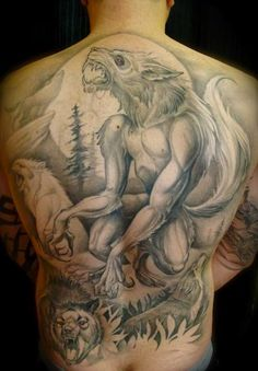 werewolf-tattoo-ideas