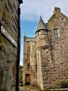 Fordyce Castle is a 16th century tower in Aberdeenshire