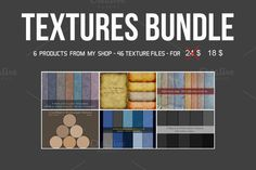 Textures Bundle by aivos on @creativemarket