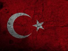 red dirty turkish flag (to get full size image visit the site)
