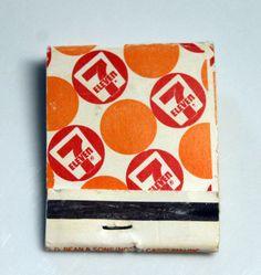 7 Eleven -  Matchbook. $2.00, via Etsy.
