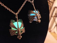 Glow In The Dark Brass or Silver Dragonfly Wrapped by GeekOUTlet, $30.00