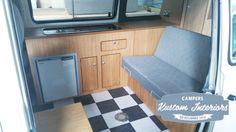 VW T25 Camper Interior - VW Camper Interiors - Camper Conversions - Kustom Interiors Cornwall