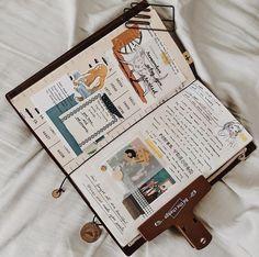 Book Journal, Bullet Journal, Journals, Reflective Journal, Smash Book, Travelers Notebook, Journal Inspiration, Feel Good, Notebook Ideas