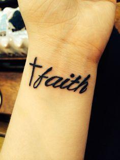 faith tattoo (: