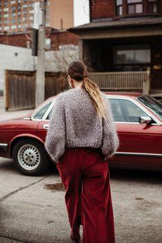 Ravelry: Kelowna Sweater by Tara-Lynn Morrison Hand Knitting, Knitting Patterns, Tara Lynn, Hand Knitted Sweaters, Day For Night, Ravelry, Loopy Mango, My Style, Model