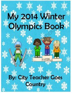 Winter Olympics Book and Activities - Sochi 2014  from City Teacher Goes Country on TeachersNotebook.com -  (28 pages)  - Winter Olympics Book and Activities - Sochi 2014 Student book of facts plus lots of printables, and projects.