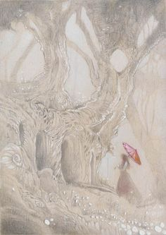 Some basic information of working with silverpoint medium. Stephanie Pui-Mun Law - Shadowscapes
