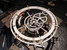 wooden gear clock - Google 검색