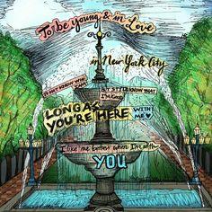 """Lyrics to the song """"I Like Me Better"""" by Lauv ♥✒ #illustration #illustrator #music #lyrics #lyricart #lyricseries #songlyrics #pen #nyc #newyork #drawing"""