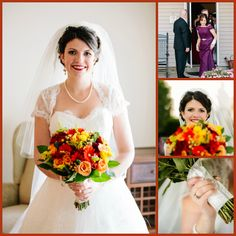 Bridal + Family Portraits  Get Me to the Church on Time {Wedding Recaps}
