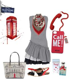 """Call me"" by simona-mari on Polyvore"
