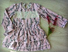Paidasta mekoksi! - ohje kaavan muokkaamiseen ja soveltamiseen - Punatukka ja kaksi karhua Floral Tops, Sun, Crafts, Women, Fashion, Moda, Manualidades, Women's, Fashion Styles