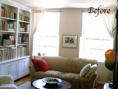 Before & After: Finishing Touches in an 80/20 Living Room — The Color Cure