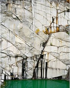 Edward Burtynsky, Rock of Ages # 4, Abandoned Section, Adam-Pirie Quarry, Barre, Vermont
