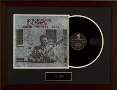 Silent Auction Item BB King Autographed Record Album #fundraising #auction https://www.cfr1.org/fundraising-items/