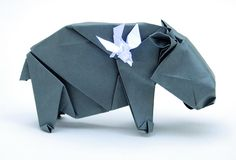 Hippo by origamilive, via Flickr