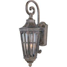 Beacon Hill VX Sienna Three-Light Outdoor Wall Lantern