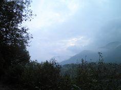 Una sera di ottobre, guardando verso il Garda.
