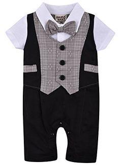 f27b159d1e089 Offerta di oggi - ZOEREA neonati bambini Gentleman infantile Vola tutine  complessivi Estate abiti di cotone