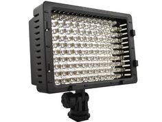 Neewer CN-126 LED Video Light for Camera or Digital Video Camcorder by Neewer. $32.88. This 126 LED Video Light can adapt to different types of digital video camcorders and cameras. It can also work as Office table lamp, industrial lamp, power cut light, or even Barbecue at your garden, etc.   *Rotate switch for on/off and brightness adjustment.   *Adopts concentration LED lights, irradiation distance can reach more than 5m, suitable for long distance shooting. t...