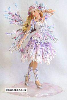 """Ice Princess"" Faerie Poppet figurine"