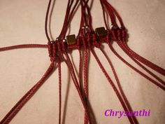 017 (Small) Macrame Jewelry, Macrame Bracelets, Macrame Tutorial, Projects To Try, Creations, How To Make, Petra, Patterns, Crochet