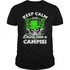 I Love  CAMPISI Patricks day T-Shirt Shirts & Tees