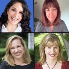 Katie Davis, Laura Backes, Emma Walton Hamilton, and Julie Hedlund - co-founders and hosts of Picture Book Summit