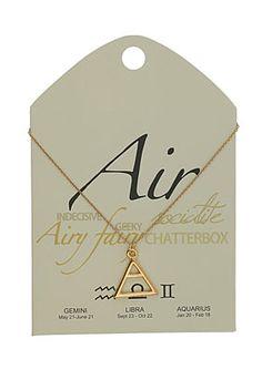 Air Symbol Necklace