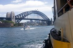 Sydney Harbor Ferry - oats depart from downtown Circular Quay ferry terminal and fan out on eight different routes. Trips take about 30 minutes on a slow ferry and 18 minutes on a fast ferry; either way, you'll get great views of the famous Harbor Bridge