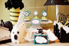 Halloween Dessert Table - Elegant Halloween Party Ideas |
