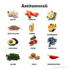 Cibi con proprietà antitumorali: Alimentazione e salute, prevenzione antitumorale