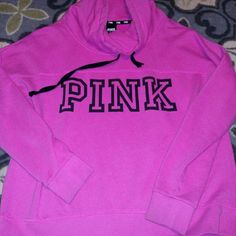 Victoria secret pink cowl neck size large Minor pilling PINK Victoria's Secret Tops Sweatshirts & Hoodies
