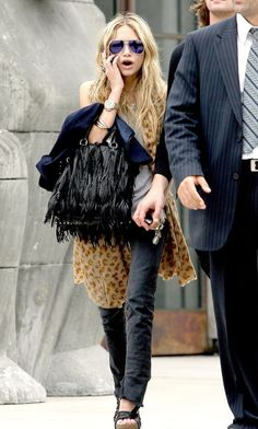 Olsens Anonymous Favorite: Mk | Leopard + Fringe