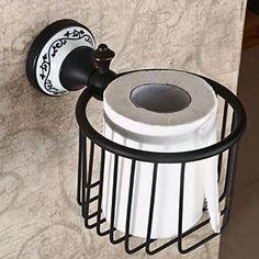 Hiendure ®Hochwertig Verchromt Wandhalter Toilettenpapierhalt Papierhalter…