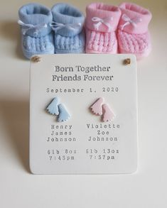 Twin Baby Gifts, Johnson And Johnson, Twin Babies, Friends Forever, Baby Twins, Newborn Twins