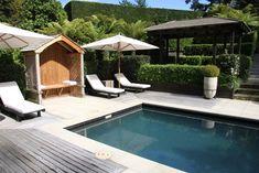 huka lodge pool Huka Lodge, Pools, Landscaping, Gardens, Building, Outdoor Decor, Ideas, Home Decor, Decoration Home
