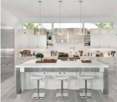 Delicieux 15 Cool Kitchen Designs With Gray Floors